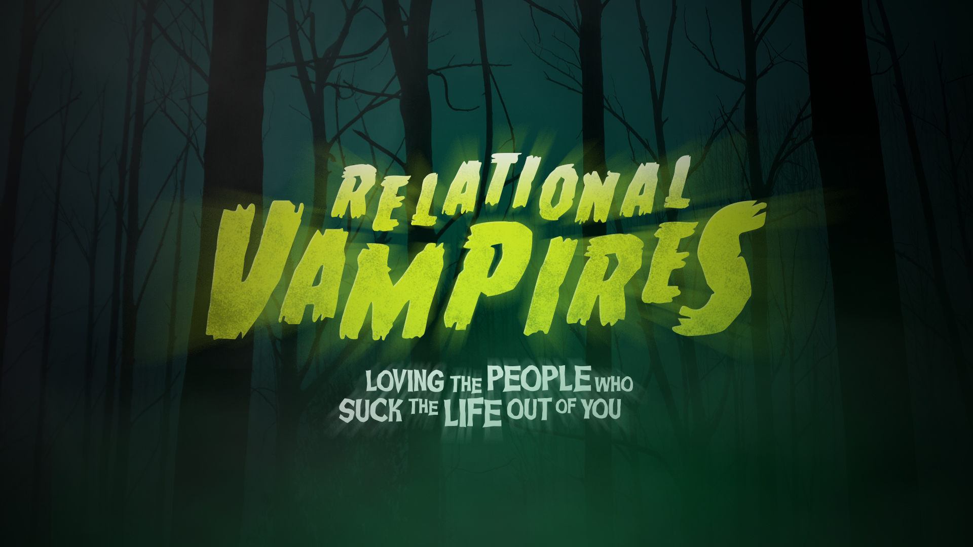 Relational Vampires – Part 4 of a 4 Part Series